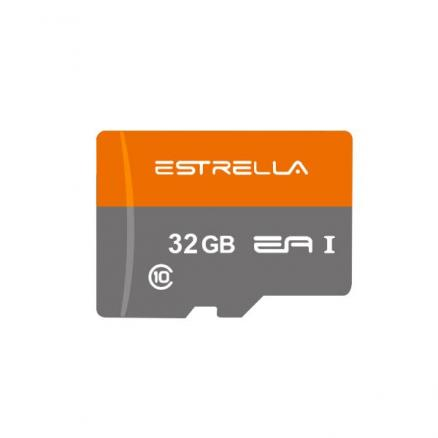 2x ESTRELLA 32GB Class 10 Up to 80MB/s Micro SDXC UHS-I Memory Card for Car DVR (KB-551806)
