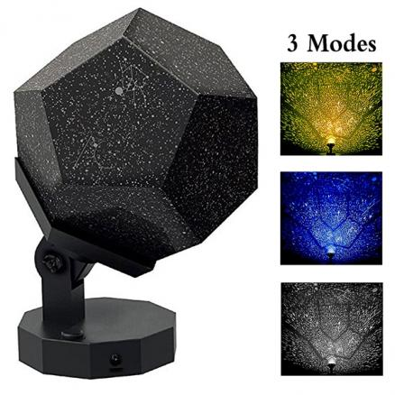 ScienceGeek Star Lamp Projector Sky Map Projector Astrostar Cosmos Romance Light (HLT-535385)