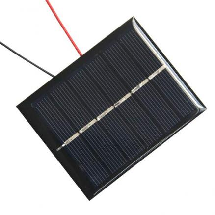 DIY BL85-55 3V 180mA Solar Battery Panel - Black + Blue + Green (EDC-311522)