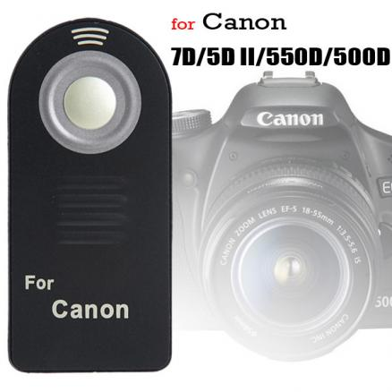 Infrared Remote Control for Canon EOS 550D 500D 7D 5D Camera (VRC-38614)