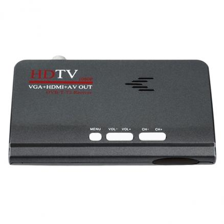 1080P HDMI HD TV DVB-T2 DVB-T AV to VGA TV Box USB Support MPEG4 (ETAAD-524332)