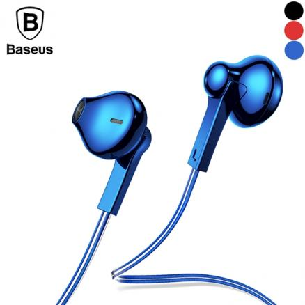 Baseus H03 Wired Earphone Stereo Line Control In-Ear Hands Free Call With Mic (EEP-540830)
