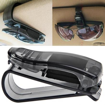 1/2 pcs Car Visor Glasses Sunglasses Ticket Clip Holder - Color Assorted (RIG-179460)