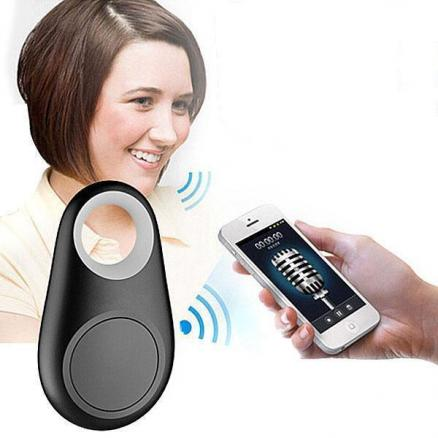 4-in-1 Bluetooth 4.0 Anti-Loss Keychain Tracker Selfie Remote Button (EPATH-393410)
