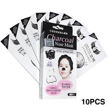 10pcs Bamboo Charcoal Blackhead-removing Nose Sticker for Lady (HCI-161518)