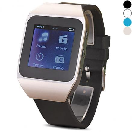 CD2717 Smart Watch MP3 Touch Screen Runner Sports 4GB Pedometer (EMP-393599)