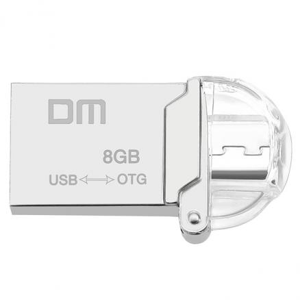 DM PD008 8GB OTG USB 2.0 U-disk USB Flash Drive with Micro USB (EUD-511357)