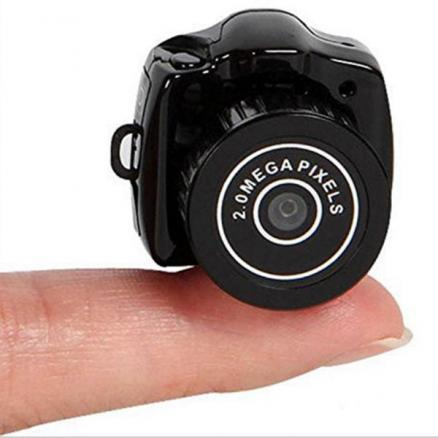 Y2000 Super Mini HD Video Camera 480P Mini Pocket DV DVR Camcorder (E-525991)