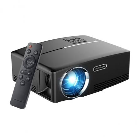 GP80 Projector, Portable Size Game Video Entertainment for Home Theater 1080P (ETATH-551735)