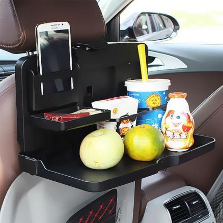 Back Seat Multipurpose Handy Car Fold Down Snack Tray (RTH-521474)