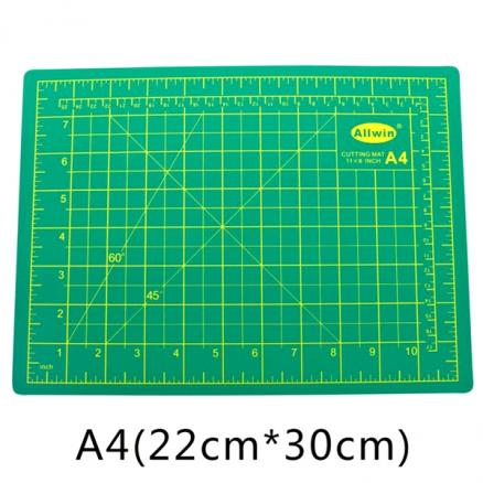 22*30cm Self-Healing Cutting Mat Double Sided Durable Non-Slip Thick Rotary Mat (EDT-542933)