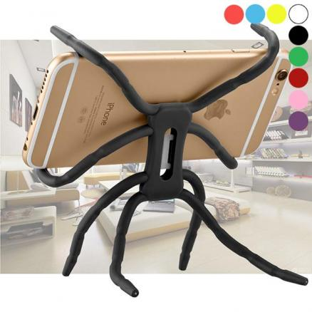 Spider Flexible Grip Smart Phone GPS Car Bicycle Bike Support Cell Mobile Holder (EPA-545646)