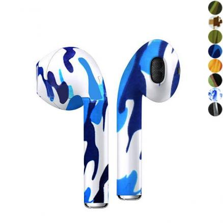 i7s TWS Bluetooth V4.1 Earphones with Charging Case – Camouflage Color (EDT-556390)