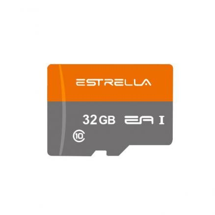 ESTRELLA 32GB Class 10 Up to 80MB/s Micro SDXC Memory Card with Free Card Reader (EFM-553590)