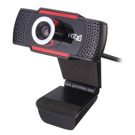 Foldable 720P HD Webcam Computer Camera with Sound-absorbing Microphone Mic (ETA-543258)