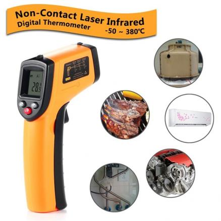 GM320 Infrared Thermometer Non-Contact Laser Gun IR Thermometer (EDT-528767)