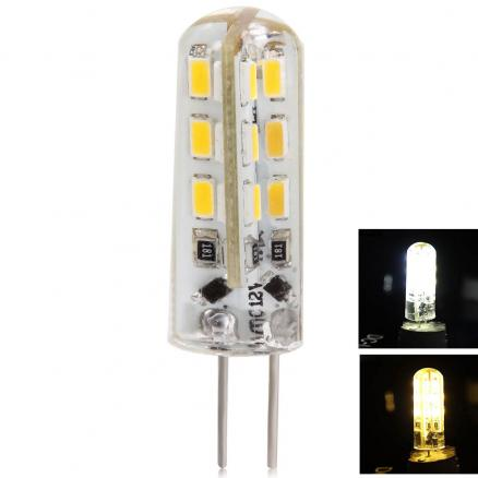 12V G4 2W 180LM 24-LED SMD 3014 LED Corn Bulb LED Light Bulbs (HLT-318722)