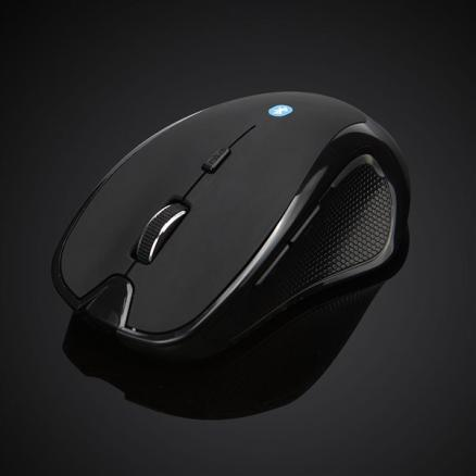 Ergonomic Adapter-free Optical Wireless Bluetooth 3.0 Mouse f Laptop (ECAMS-526500)