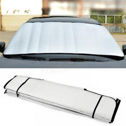 UV Protect Car Styling Front Window Sunshade Windshield Film Foldable (RTH-534112)