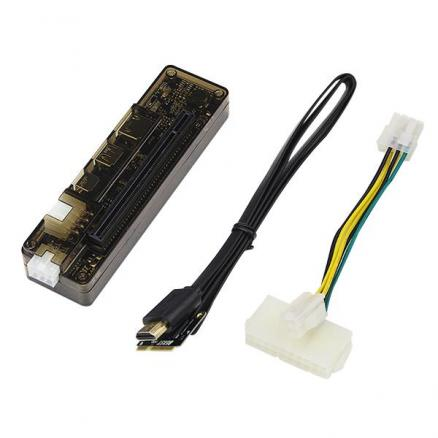 PCI-E EXP GDC External Laptop Graphics Card Docking Station (Mini PCI-E Version) (E-549078)