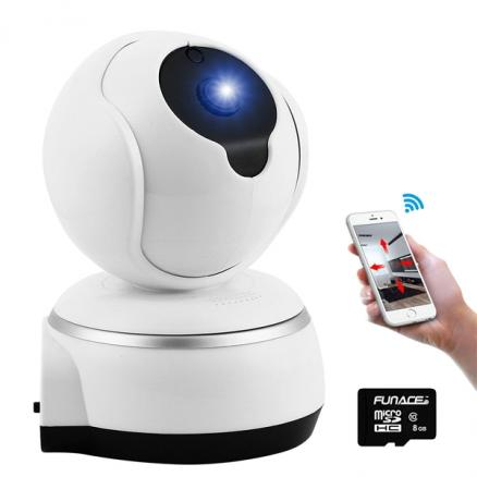V380 Wireless IP Camera WIFI 720P Surveillanc Security Baby Monitor Night Vision (SCM-539563)