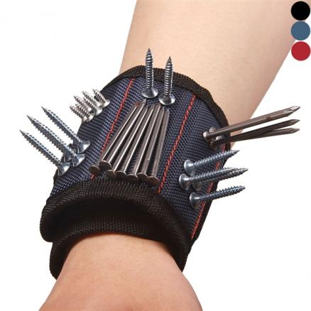 Magnetic Wristband with Strong Magnet for Holding Screws Nails Pickup Tool (NLC-542380)