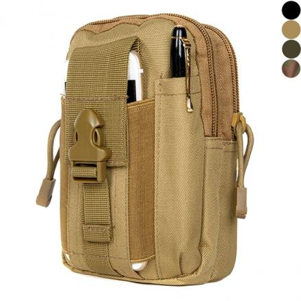 Military Army Travel Waist Pack Hand Carry Pouch Shoulder Bag f Camping Outdoor (STH-536837)