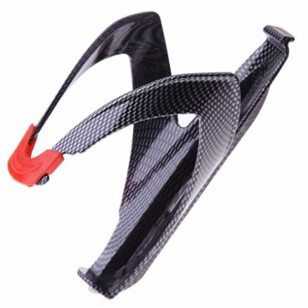 Lightweight Carbon-Fiber-Style Road Bicycle Bottle Holder (SBK-528582)