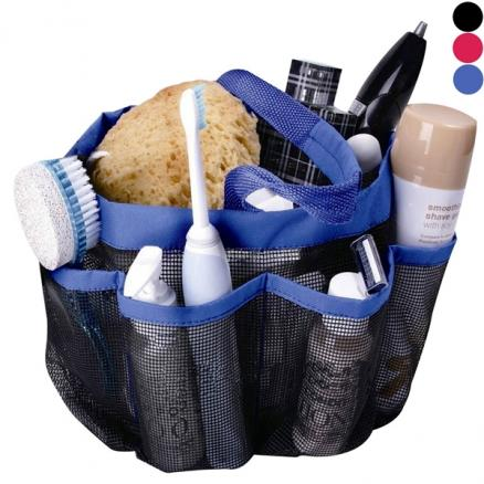 Mesh Shower Caddy - Quick Dry 8 Pockets Mesh Portable Shower Tote Bag (HHI-540086)