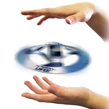 1/2/4/6 Mystery Floating UFO Flying Saucer Frisbee Magic Trick Toy (TDS-495779)