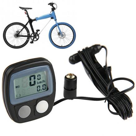 LCD Display Bicycle Computer/ Odometer/ Speedometer (HUI-62468)