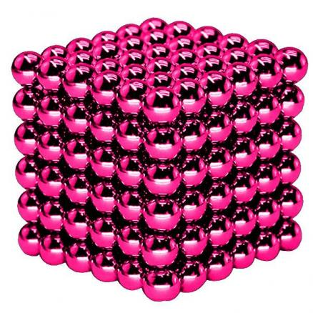 216 x 3mm Rose Red Buckyballs Magic Magnet Magnetic DIY Balls Puzzle (TDS-526409)