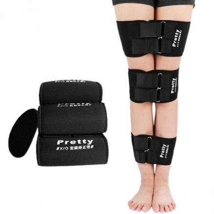 3Pcs Correcting Thigh O-type Leg Orthotic Adult Tape Corrector X-type Leg Belts (DTH-539458)