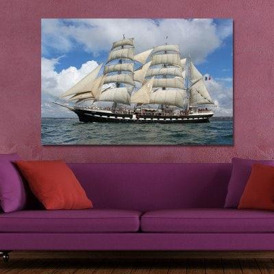 05 275 Photography Sea Sailing Scenery Print Art