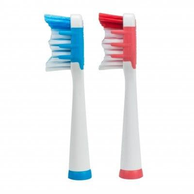 SEAGO Durable Toothbrush Head for SG - 915 / SG - 663 2PCS