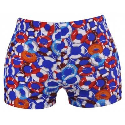 Men's Boxer Printing Swimwear