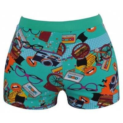 Men's Cartoon Breathable Boxer Swimming Trunks