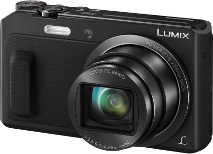 Panasonic Lumix DMC-TZ57 (черный)