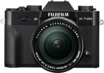 Fujifilm X-T20 Kit 18-55mm (черный)