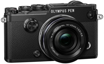 Olympus PEN-F Kit 14-42 EZ (черный)