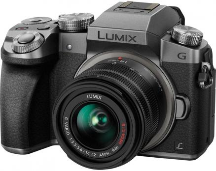 Panasonic Lumix DMC-G7 Kit 14-42mm (серебристый)