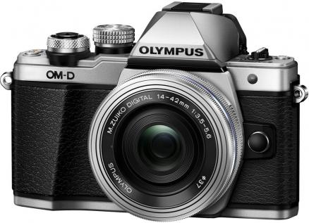 Olympus OM-D E-M10 Mark II Kit 14-42mm EZ (серебристый)