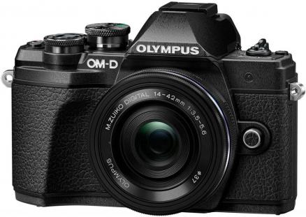 Olympus E-M10 Mark III Kit ED 14-42 EZ (черный)