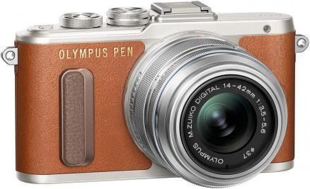 Olympus PEN E-PL8 Kit 14-42mm EZ (коричневый)