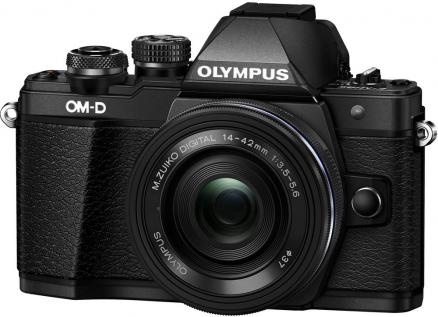 Olympus OM-D E-M10 Mark II Kit 14-42mm EZ (черный)