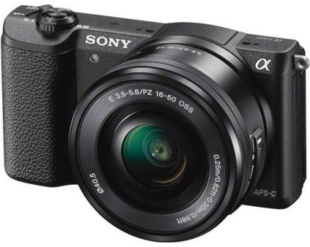 Sony Alpha A5100L Kit 16-50 (черный)