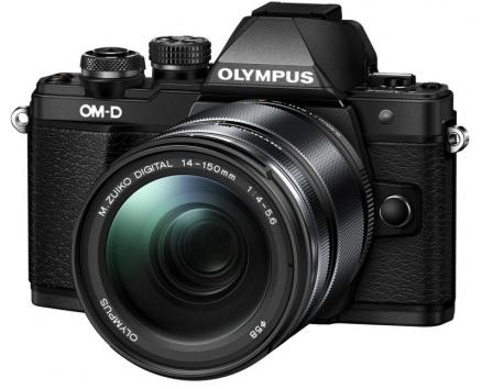 Olympus OM-D E-M10 Mark II Kit 14-150mm II (черный)