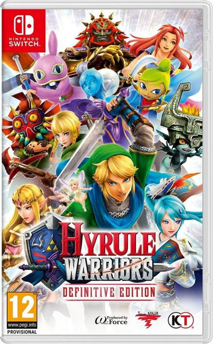 Nintendo NSW: Hyrule Warriors: Definitive Edition