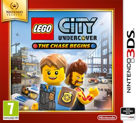 Nintendo 3ds LEGO City Undercover : The Chase Begins