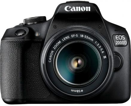 Canon EOS 2000D Kit EF-S 18-55mm 3.5-5.6 III (черный)
